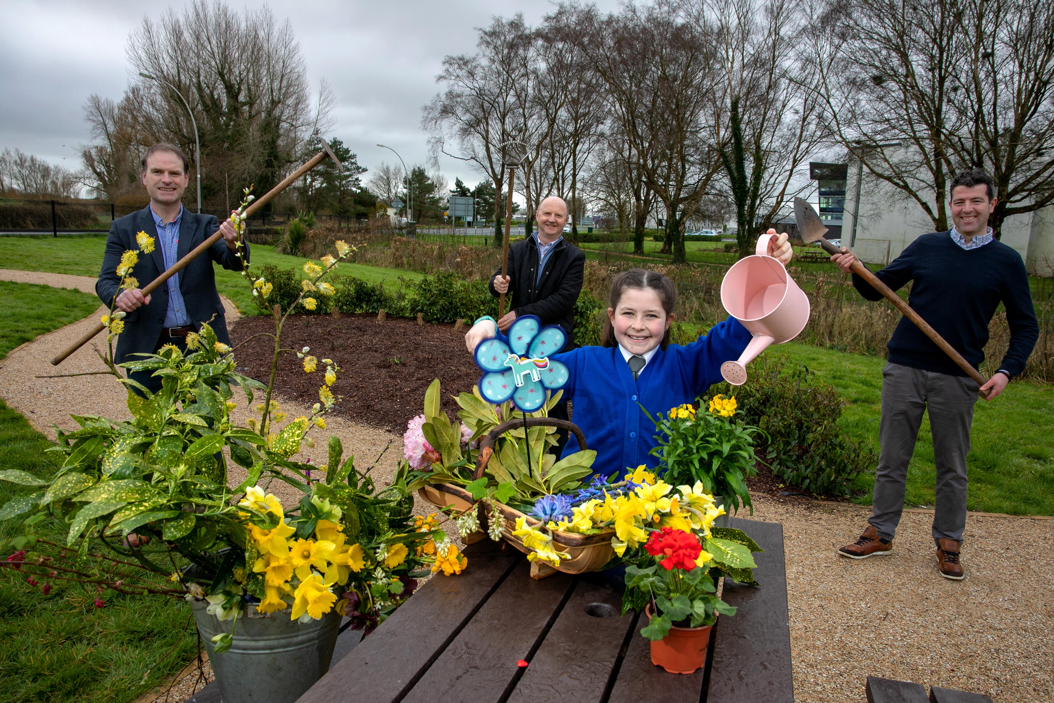 Primary school student wins competition to design a new Biodiversity Garden in Shannon Image